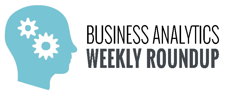 Business Analytics Weekly Roundup Logo